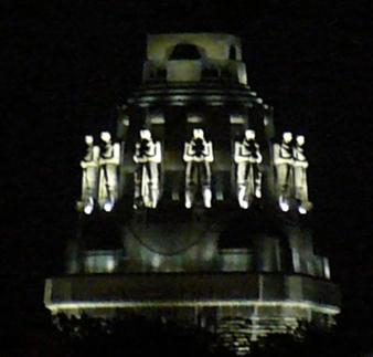 Völkerschlachtdenkmal Zoom Nacht