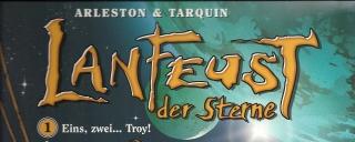 Die Serie Lanfeust der Sterne von Arleston und Tarquin erscheint bei Carlsen Comics.
