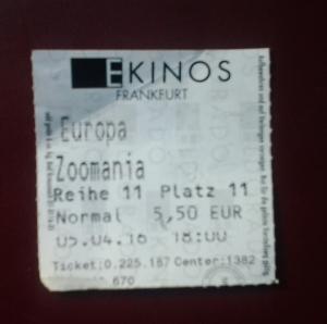 Karte Zoomania