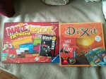 "Spiele ""Make'n Break Extreme"", ""Black Stories1"", ""Dixit"" und ""Halt mal kurz"""