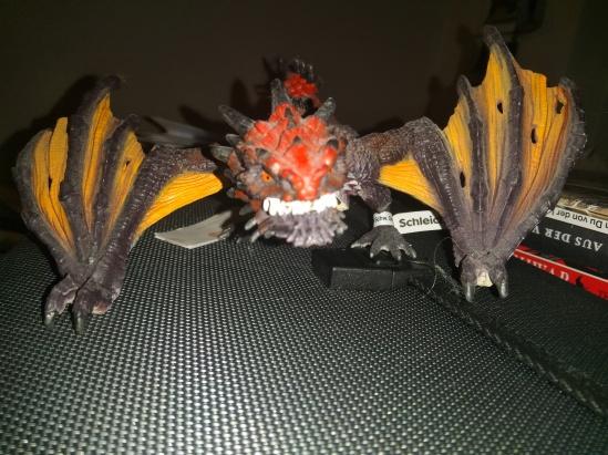 eine Drachenfigur