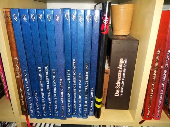 Blaue DSA-Quellenbänder